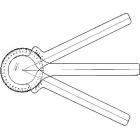 Davis Three-Arm Protractor