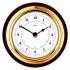Fischer Clock (170mm Ø) (Mahogany)