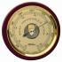 Fischer Barometer (240mm Ø) (Mahogany)
