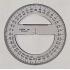 LINEX Circular Protractor (200mm Ø)